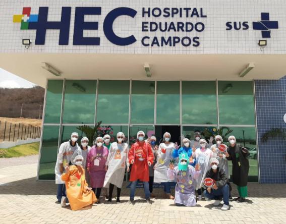 HEC realiza ação de cuidados à saúde